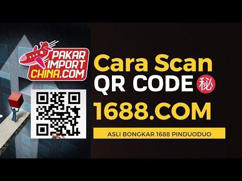 Cara scan qr Code 1688.Com