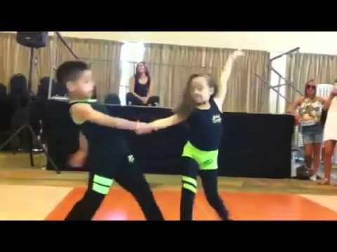 Salsa kids. Amazing Latin Dance!