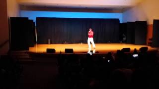 Robert Hackett performing CAN YOU GET IT WIT ME