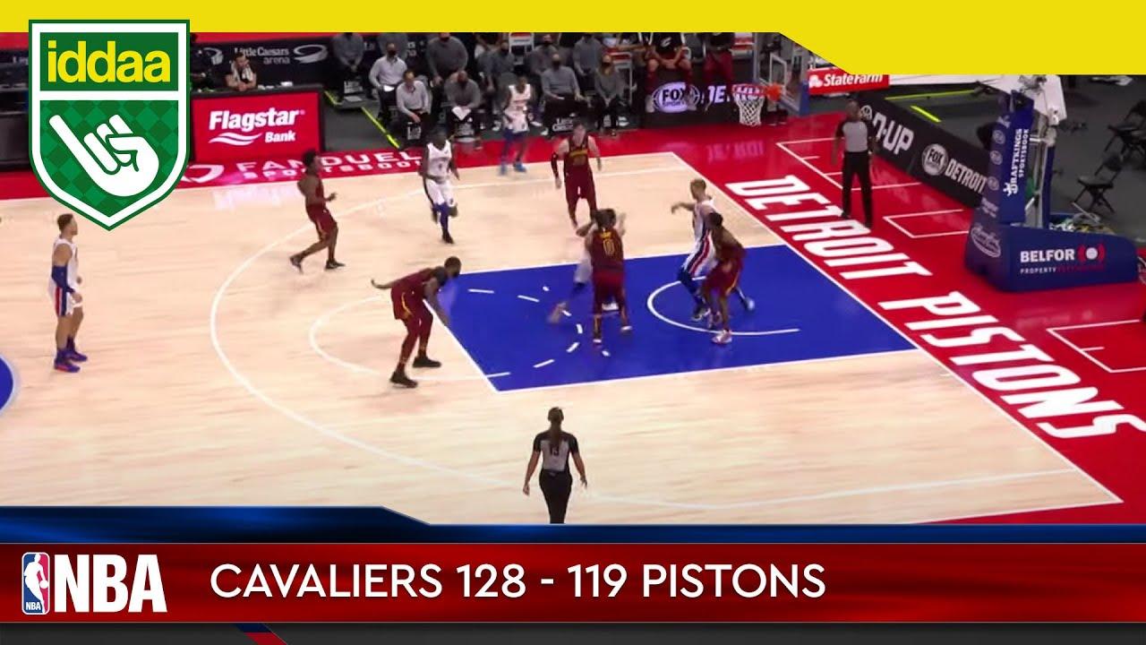 Cleveland Cavaliers – Detroit Pistons Maç Özeti