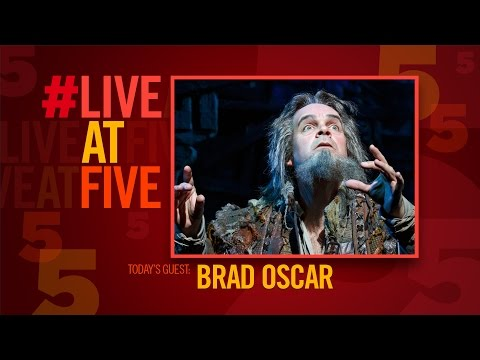 Broadway.com #LiveatFive with SOMETHING ROTTEN!'s Brad Oscar