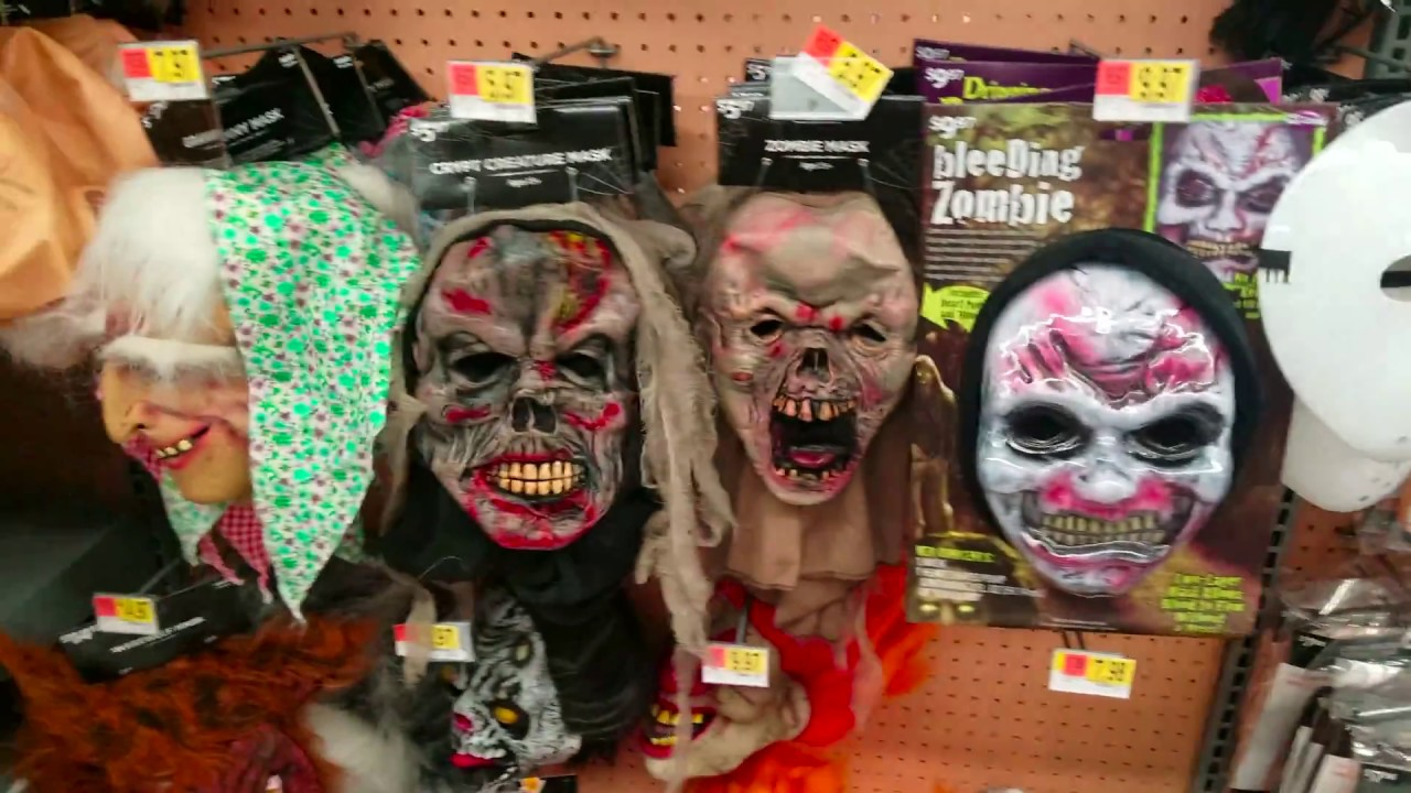 Halloween Costumes At Walmart Happy Halloween Creepy Clown Mask