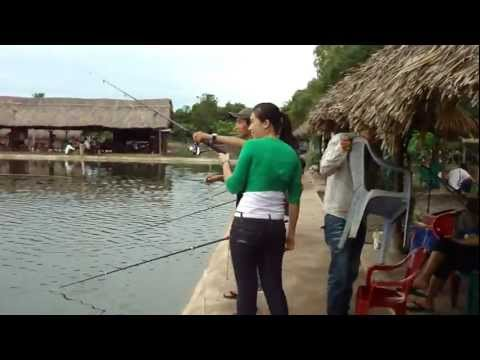 Big girl câu cá hồ trường thanh - thegioicauca.com
