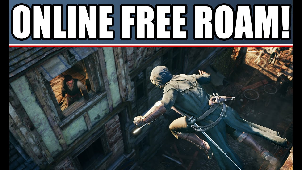 Assassins creed games free online - Assassin S Creed Unity New Gameplay Details Online Free Roam The Cafe Coop Campaign Map Size
