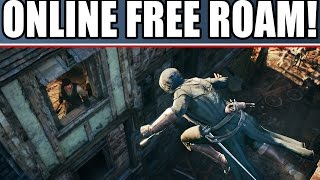 assassin s creed unity new gameplay details online free roam the cafe coop campaign map size