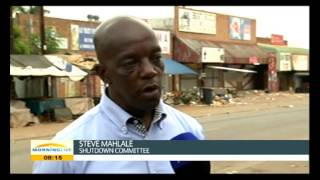 Commander in Chief Steve Mahlale of the Malamulele Shutdown Committee