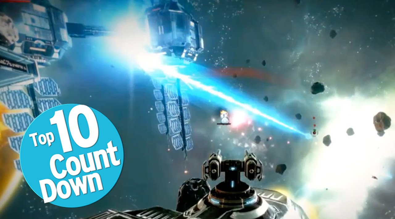 Top 10 Space Combat Video Games Youtube