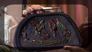 Шьем вечерние сумки из старого пальто. Мастер класс. Татьяна Лазарева(Передача
