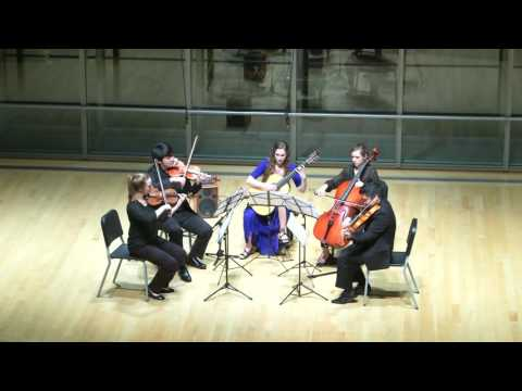 Quintet for Guitar and String Quartet: IV  Allegro con fuoco -- Mario Castelnuovo Tedesco
