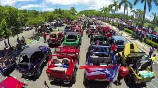 La gran parada de autos antiguos Puerto Rico 2016 en 4k