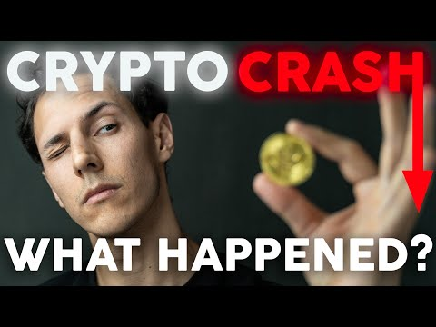 Cryptocurrency Crash! - What is going on?   Crypto News