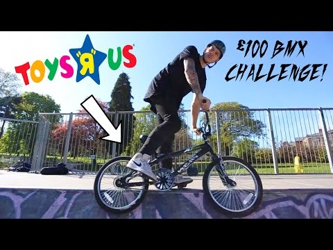 THE TOYS R US BMX CHALLENGE! *£100*