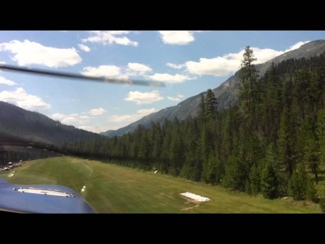 Piper Cherokee Go Around Runway 17 Johnson Creek