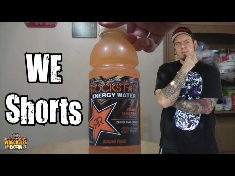 We Shorts - Rockstar Energy Water Orange Tangerine