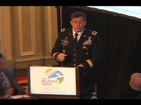 The Big River Works Major General Peabody Speech