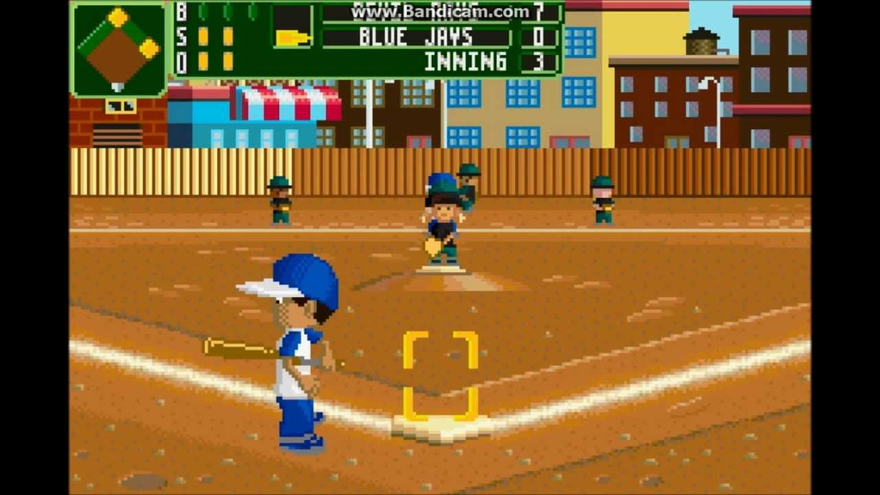 GBA GameZ Episode 37: Backyard Sports Baseball 2007