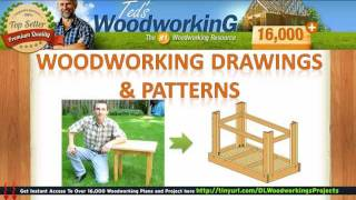 Free Woodworking Drawings - Woodworking Patterns Free