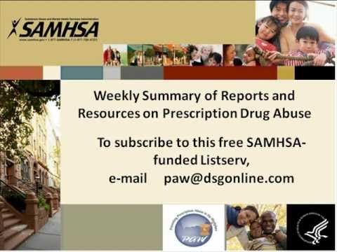 Responding to Prescription Drug Abuse