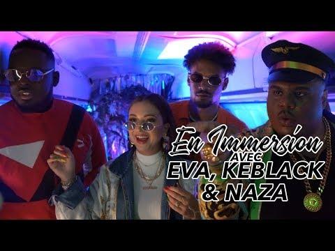 Youtube: En immersion sur le tournage de Kitoko avec Eva, Keblack et Naza