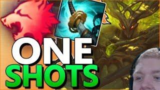 ONE E = ONE KILL!! - STORMRAZOR HECARIM ONE SHOTS EVERYONE! thumbnail