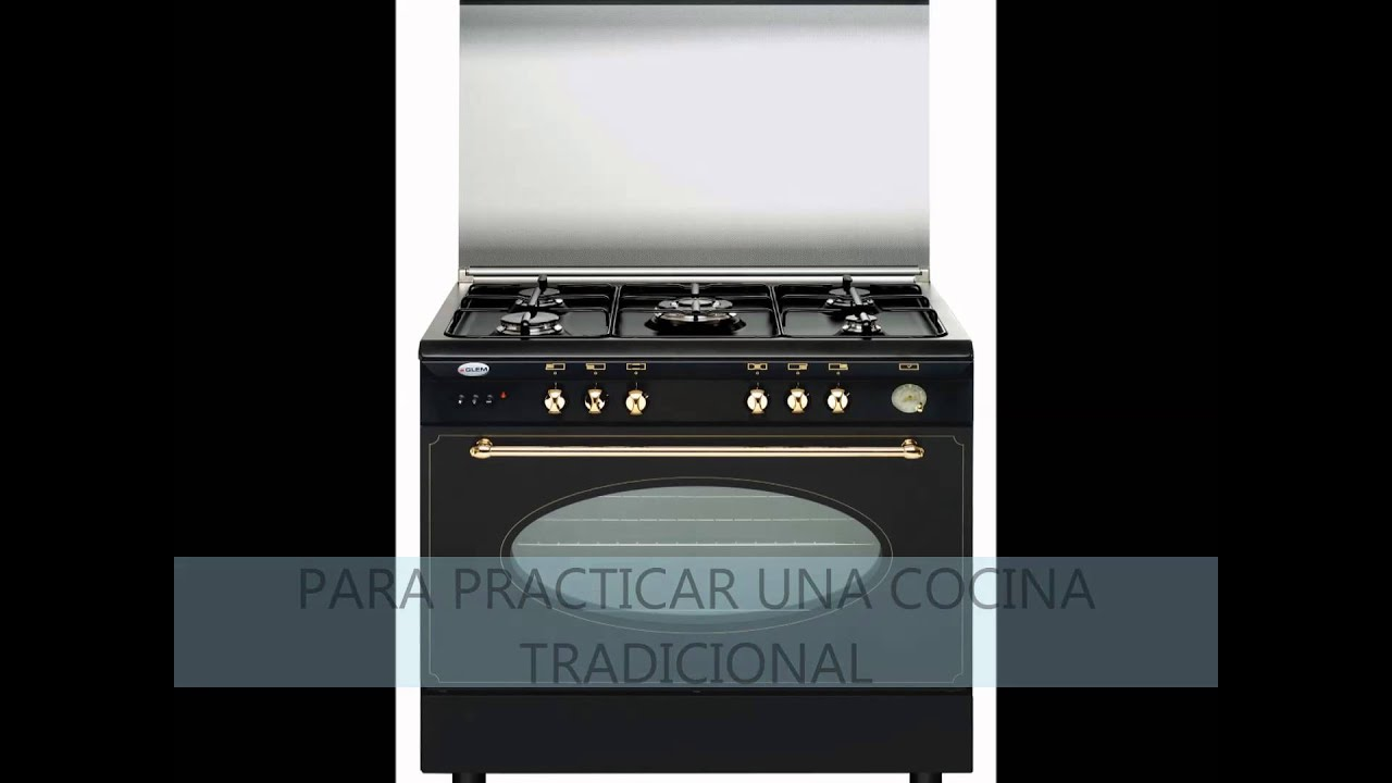 Cocinas de gas vitrokitchen youtube for Cocina de gas profesional