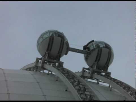 Ericsson Globe Arena SkyView Rescue
