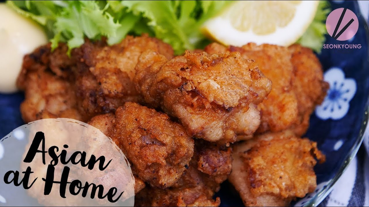 The BEST Karaage, Japanese Fried Chicken SO CRISPY!!