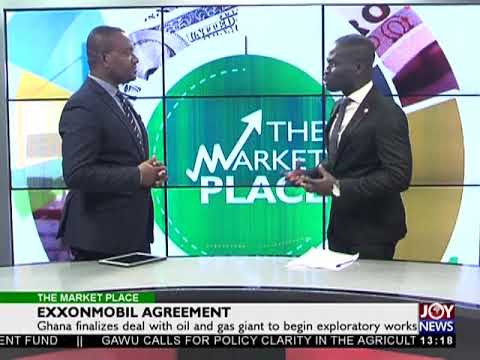 Oil And Gas Industry - The Market Place on Joy News (18-1-18