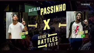[Passinho] Sidy IDD x André DB - Semi Final Rio H2K 2018 Battles