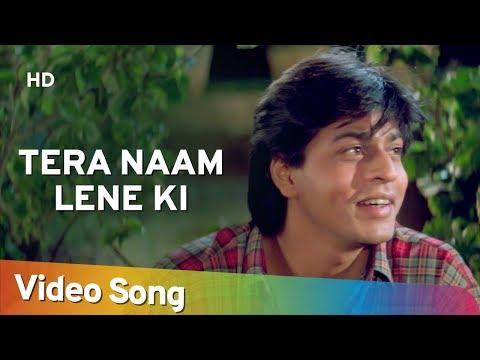 Tera Naam Lene Ki (HD) | Shahrukh Khan, Raveena Tandon | Yeh Lamhe Judaai Ke Songs | Kumar Sanu Hits