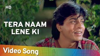 Video Tera Naam Lene Ki (HD) | Shahrukh Khan, Raveena Tandon - Yeh Lamhe Judaai Ke Songs - Kumar Sanu Hits download MP3, 3GP, MP4, WEBM, AVI, FLV Juli 2018