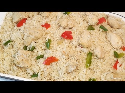How To Make Oven Coconut Rice/Easy Oven Baked Rice