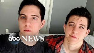 Twins transition together from female to male l GMA Digital