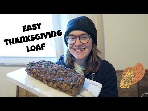 Easy Thanksgiving Loaf