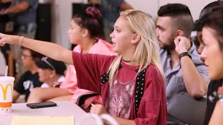 jordyn jones backup dancer auditions part i