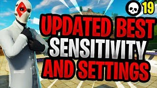 *NEW* Best Sensitivity/Settings To Use For PS4/Xbox Fortnite! (Console Battle Royale)