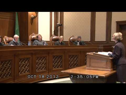 (1/2) WA. State Supreme Ct. hears Christine Schaller case: Ignoring residency mandate? 10-18-12
