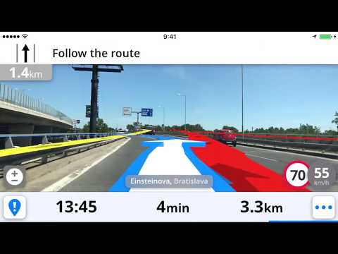 Real View Navigation from Sygic