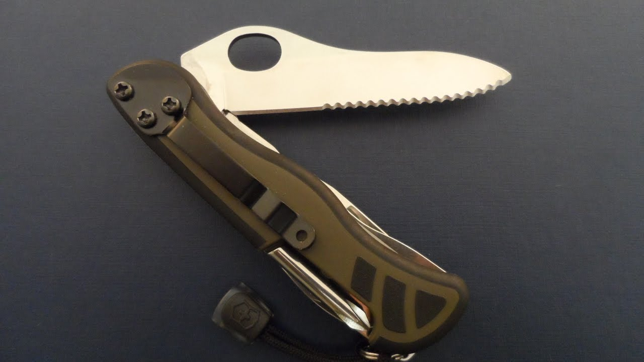 Victorinox Swiss Army Soldier Knife Mod 08 Pocket Clip