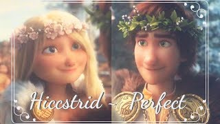 Hiccstrid ~ Perfect version 2.0 (HTTYD3 SPOILERS)
