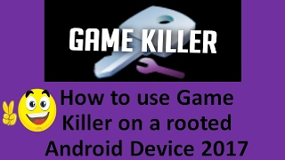 GAME KILLER How to use Game Killer to Hack SOCCER STARS 2017