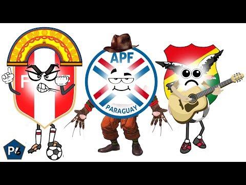 ANTES Y AHORA DE PERÚ, PARAGUAY Y BOLIVIA EN LA COPA AMÉRICA
