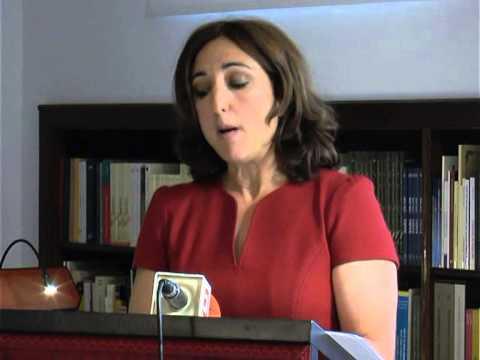 Discurso de ingreso de Margarita Sanchez en la Real Academia de Nobles Artes