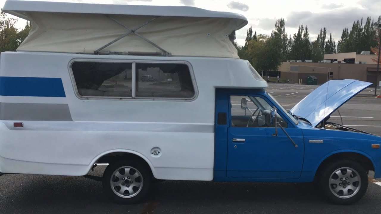 Aric's Project Blog | 1977 Toyota Chinook Restoration named