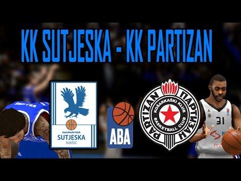 KK Sutjeska vs KK Partizan - ABA Liga 2k16 ep. 2