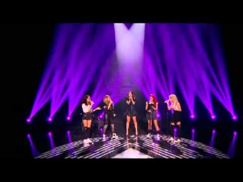 Little Mix sing Empire State of Mind with Tulisa Contostavlos XFACTOR 2011