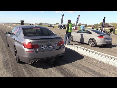 600HP Audi TT RS Plus Vs 900HP BMW M5 F10