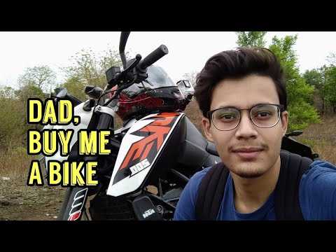 How I Convinced My Parents To Buy Me KTM Duke 200 ?