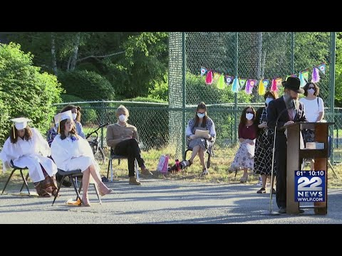 Lubavitcher Yeshiva Academy holds outdoor graduation ceremony for Class of 2020