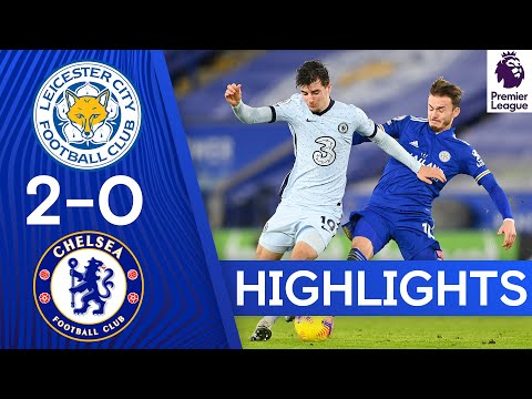 Leicester 2-0 Chelsea | Premier League Highlights